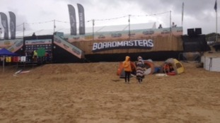 Boardmasters has officially opened today.