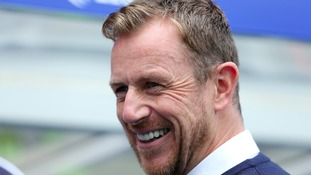 Smiles all round! Birmingham City manager Gary Rowett