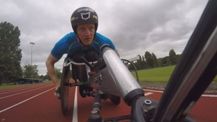 Cumbrian athlete sets sights on Rio Paralympics