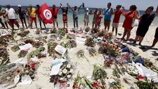 Thirty Britons were among 38 tourists killed at a resort in Sousse.