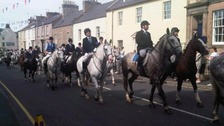 A past Coldstream Common Riding