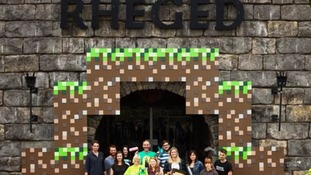 A Minecraft inspired exhibition is on show at the Rheged Centre in Penrith