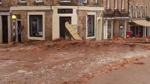 Jeburgh flooding
