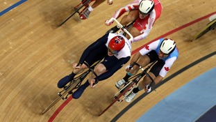Ed Clancy in the Omnium