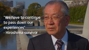 Hiroshima and Nagasaki survivors on the horrors of an atomic attack