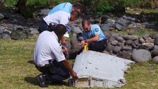 Boeing 777 wing debris