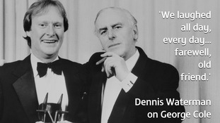 Dennis Waterman paid tribute to his former co-star today.