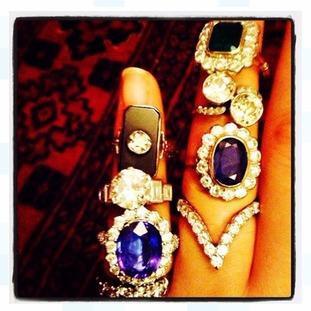 Stolen rings