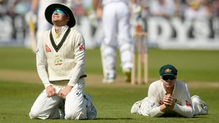 Ashes failed catch