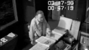 CCTV released 25 years on after $500m art heist