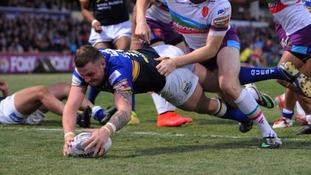 Leeds prop Brad Singleton