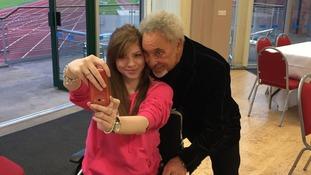 Selfie with Sir Tom