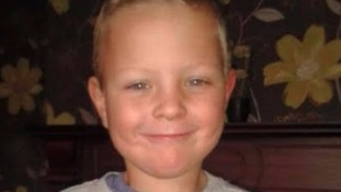 Conley Thompson, 7, died after falling into a large pipe.