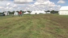 The empty showground near Watton