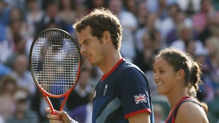 Murray and Robson lost to Belarus in the final of the mixed doubles.