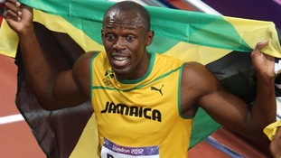 Bolt ran his second-fastest time in the 100m event.