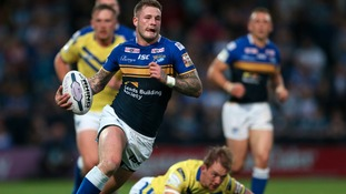 Zak Hardaker scored two tries in a man of the match performance