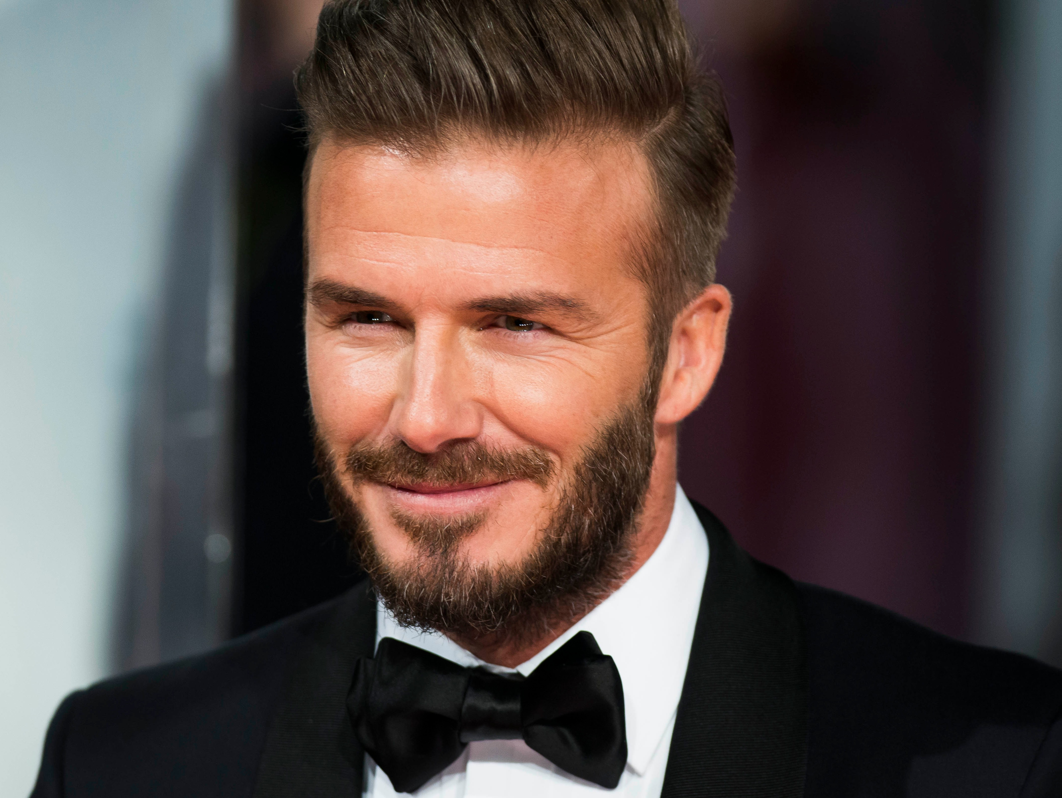 David beckham has 39 promising career as an actor 39 says his pal guy ritchie itv news for David beckham