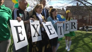 Exeter prepares for Olympic torch ceremony