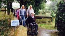 25 people came to remember Penderyn