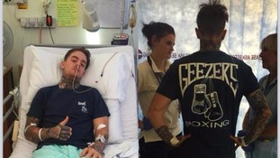 Speedway star Lewis Kerr recovering after an horrific crash last weekend