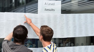 Students across the country are finding out their results.
