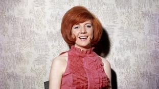 Cilla Black in the 1960s.