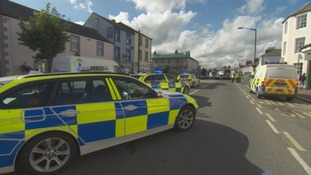A ten-year-old boy has died after being hit by a tractor in Longtown.