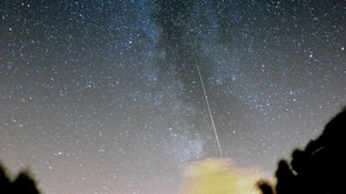 A Perseid meteor captured in August 2013