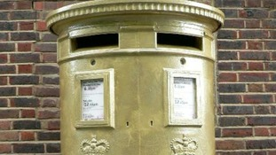 Royal Mail marks golden girl's achievements