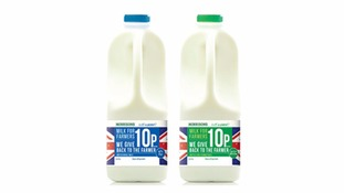 Ten pence per litre of new Morrisons milk brand to go to farmers