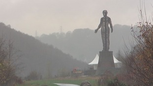 Guardian is the largest mining memorial in Wales