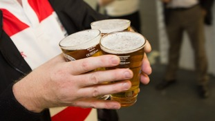 According to the study, 34% of people would rather drink from a half pint glass.