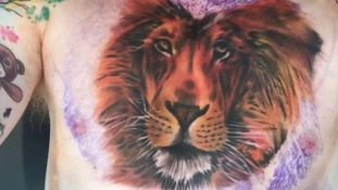 Has Ed Sheeran got a tattoo of Cecil the lion? Fans bemused by singer's new body art