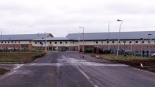 Yarl's Wood detention centre in Bedfordshire.