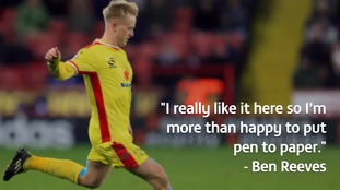 Ben Reeves has been a key part of MK Dons' recent success.
