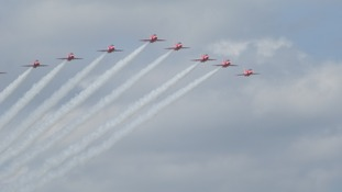 The Red Arrows are headed for Falmouth