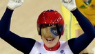 Pendleton celebrates gold in Keirin