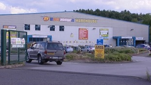 The JTF Warehouse in Stoke-on-Trent which is thought to be the source of the bacteria