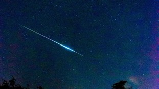 Tom Nokes took this image of a meteor over Oldham
