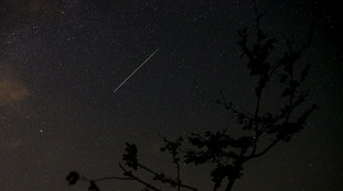 The Perseids could be seen near Kraljevine, Zenica, Bosnia