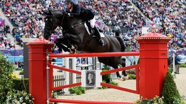 Ben Maher in action
