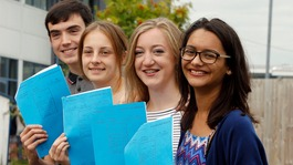 A-levels: Record number going to university despite fall in top grades