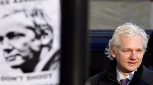 Assange has been granted asylum in the Ecuadorian embassy in London