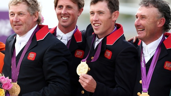 Nick Skelton, Ben Maher, Scott Brash and Peter Charles