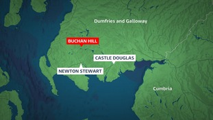 The rescue took place at Buchan Hill.