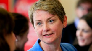 Labour leadership hopeful Yvette Cooper visits Wales
