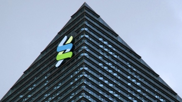 The logo of Standard Chartered