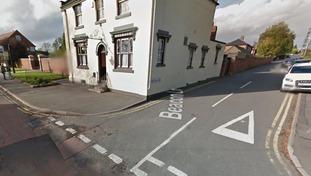 The elderly man was crossing Beacon Road when he was hit