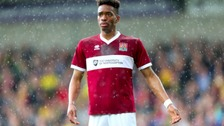 Northampton Town could face their former striker Ivan Toney.